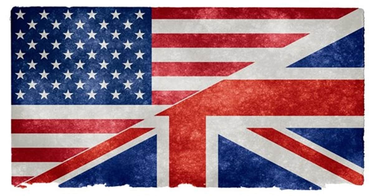 British vs American English: Commonly Used British Words not Widely Used in the United States 7