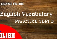 ENGLISH GRAMMAR PRACTICE 3
