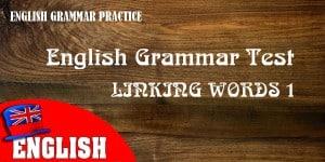 ENGLISH LINKING WORD 1