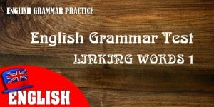 ENGLISH LINKING WORD 1