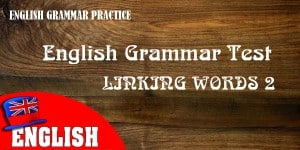 ENGLISH LINKING WORD 2