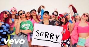 Justin Bieber - Sorry lyric