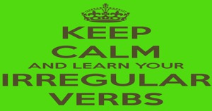 List of irregular verbs in English