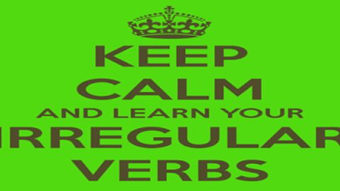 Irregular Verbs in English [English Grammar]