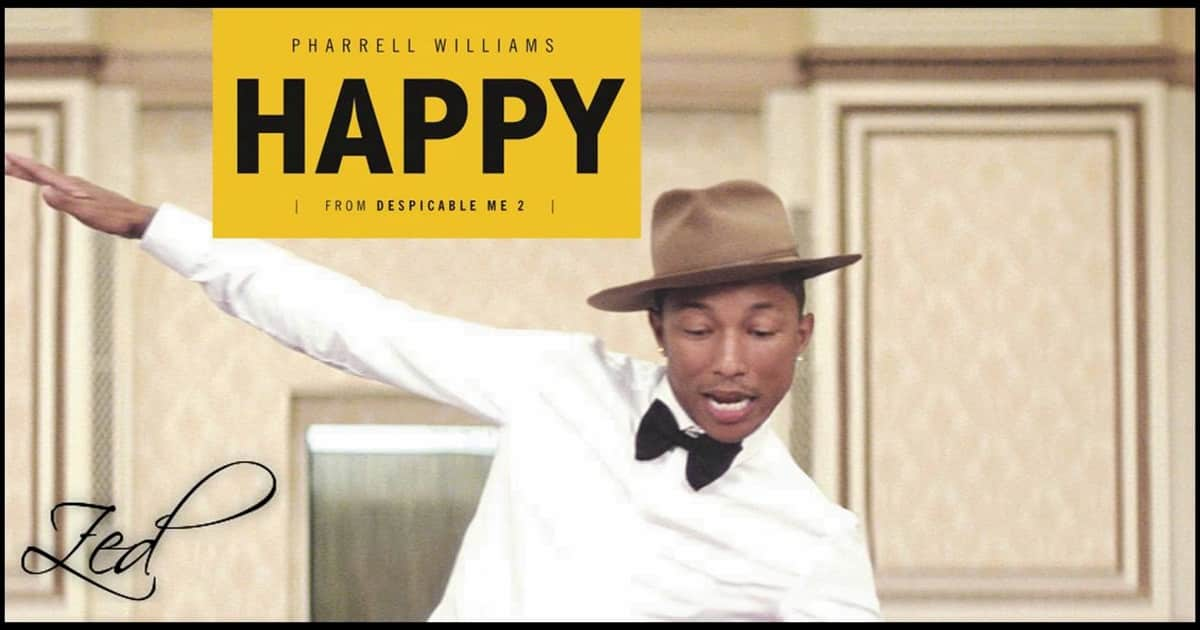 Learn English with Music [Pharrell Williams - Happy] 2