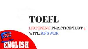 TOEFL Listening 4