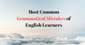 grammar mistake