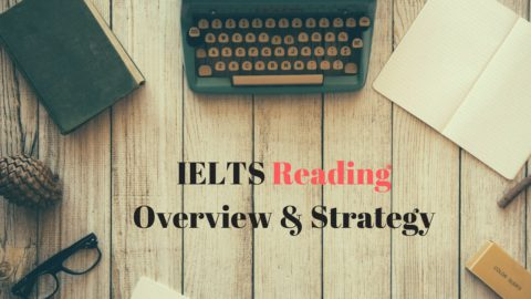 IELTS Reading Overview  & Strategy