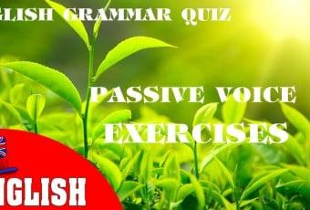 Passive Voice Exercises [English Grammar Practice Test]