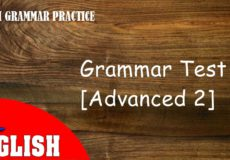 ENGLISH GRAMMAR PRACTICE 2