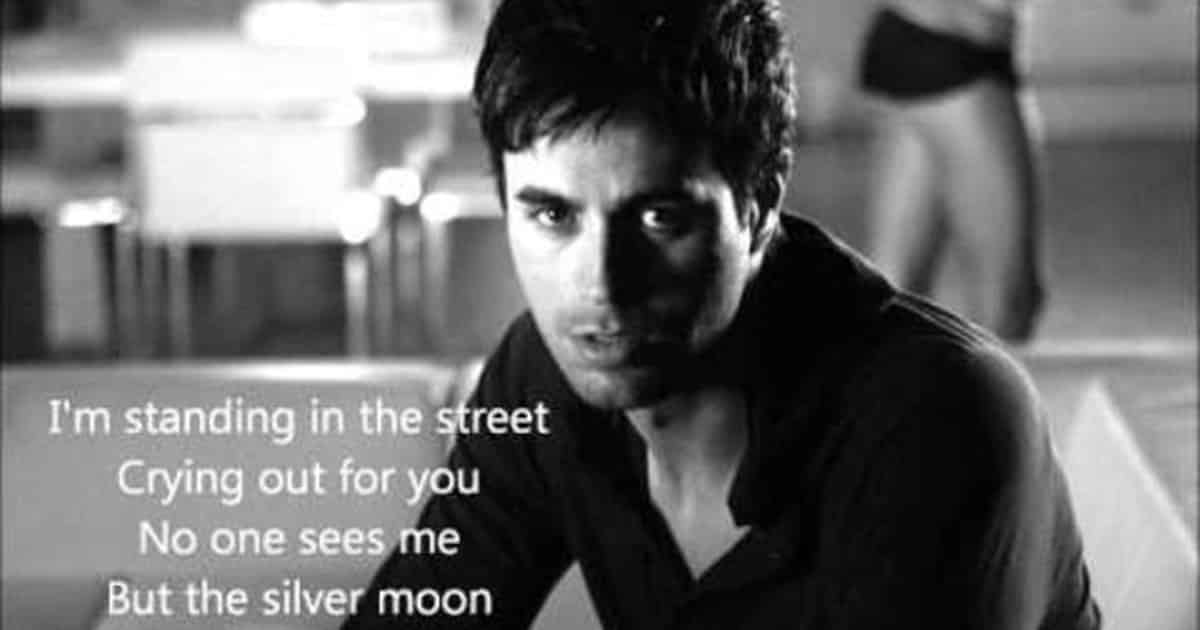 Learn English with Songs [Enrique Iglesias - Tired Of Being Sorry] 9
