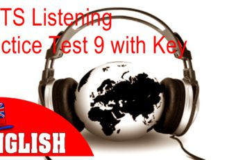 IELTS Listening Practice Test 9 with Answers