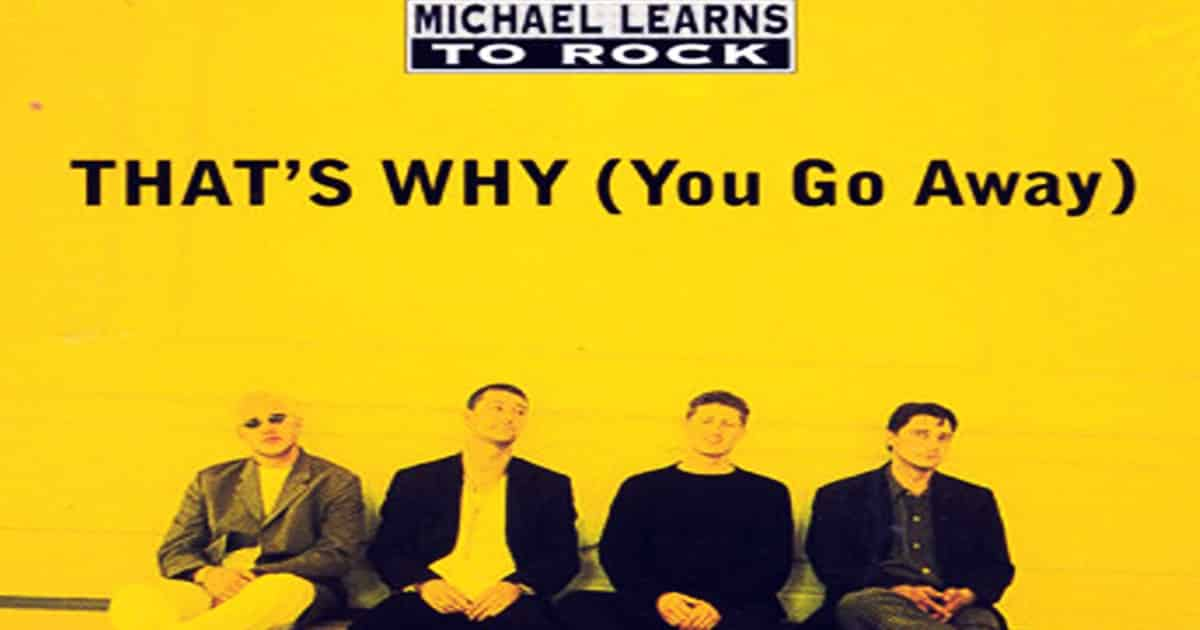 Learn English with Music [Michael Learns To Rock - That's Why You Go Away] 8