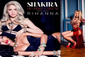 Learn English with Music Video [Shakira - Can't Remember to Forget You ft. Rihanna] 1