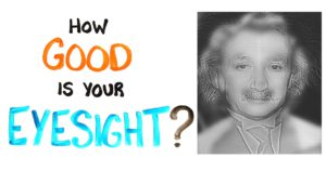 Listening English Practice - Intermediate [How Good Is Your Eyesight?]