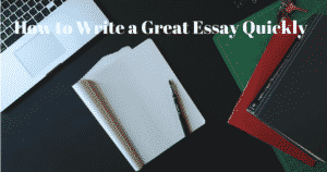 How to write a great fluent essay?
