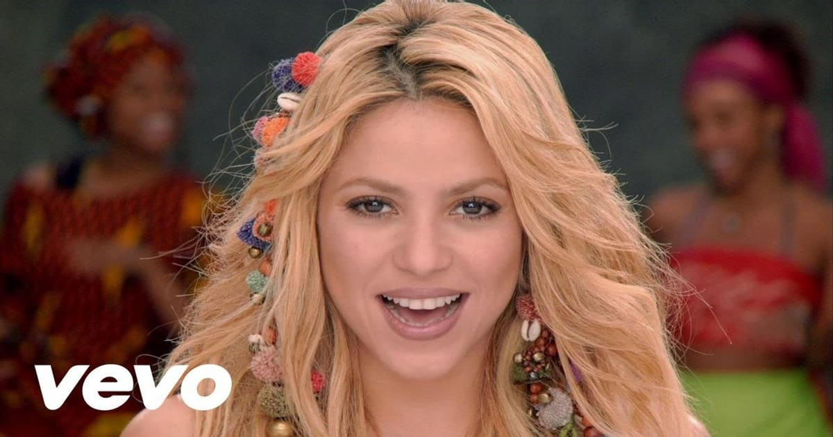 Learn English with Songs [Shakira - Waka Waka (This Time for Africa)] 16