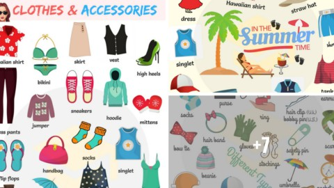 Clothes Vocabulary in English | Learn Vocabulary through Pictures