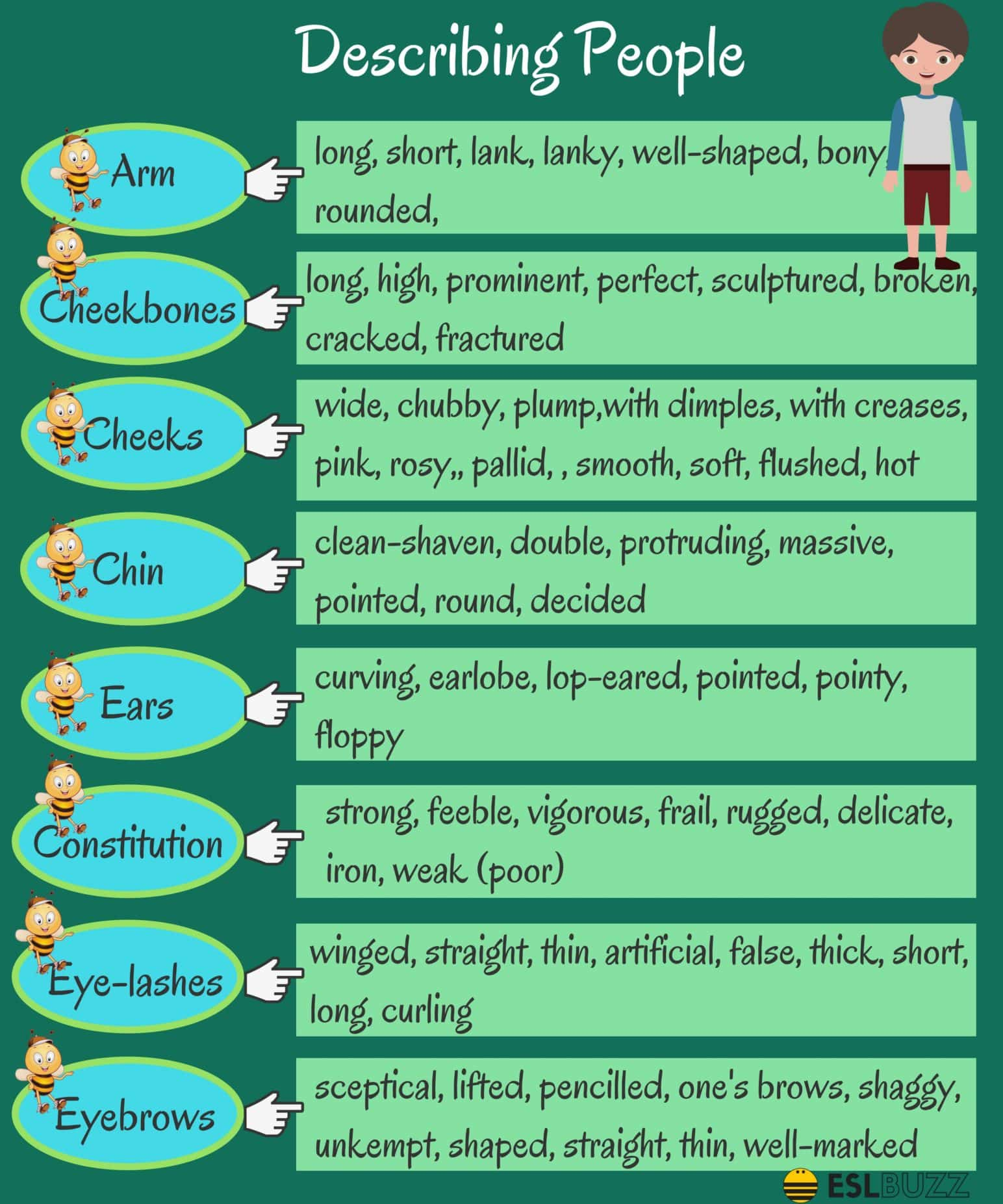 List of Adjectives - Common Adjectives in English 3