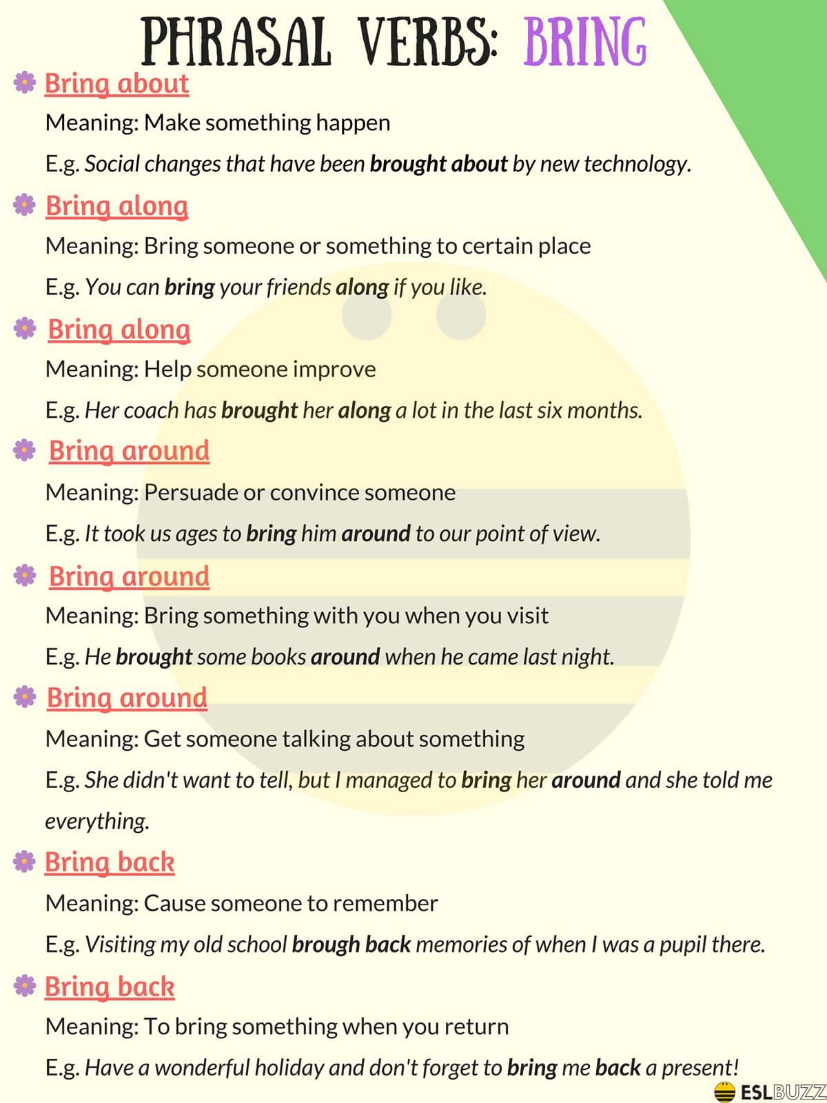 100+ of the Most Useful Phrasal Verbs in English (With Meaning & Examples) 10