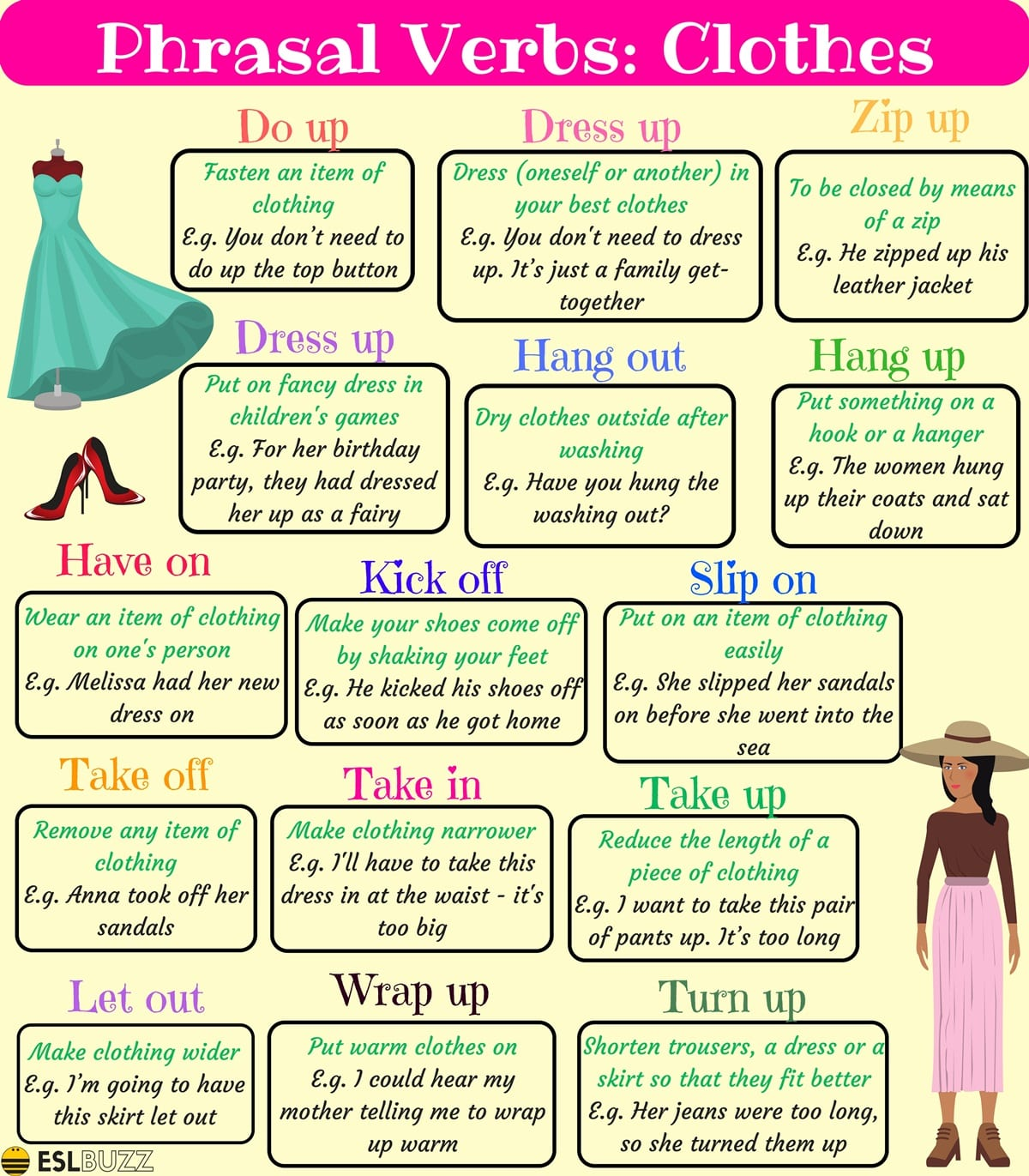 English Phrasal Verbs for Communication with Useful Examples 4