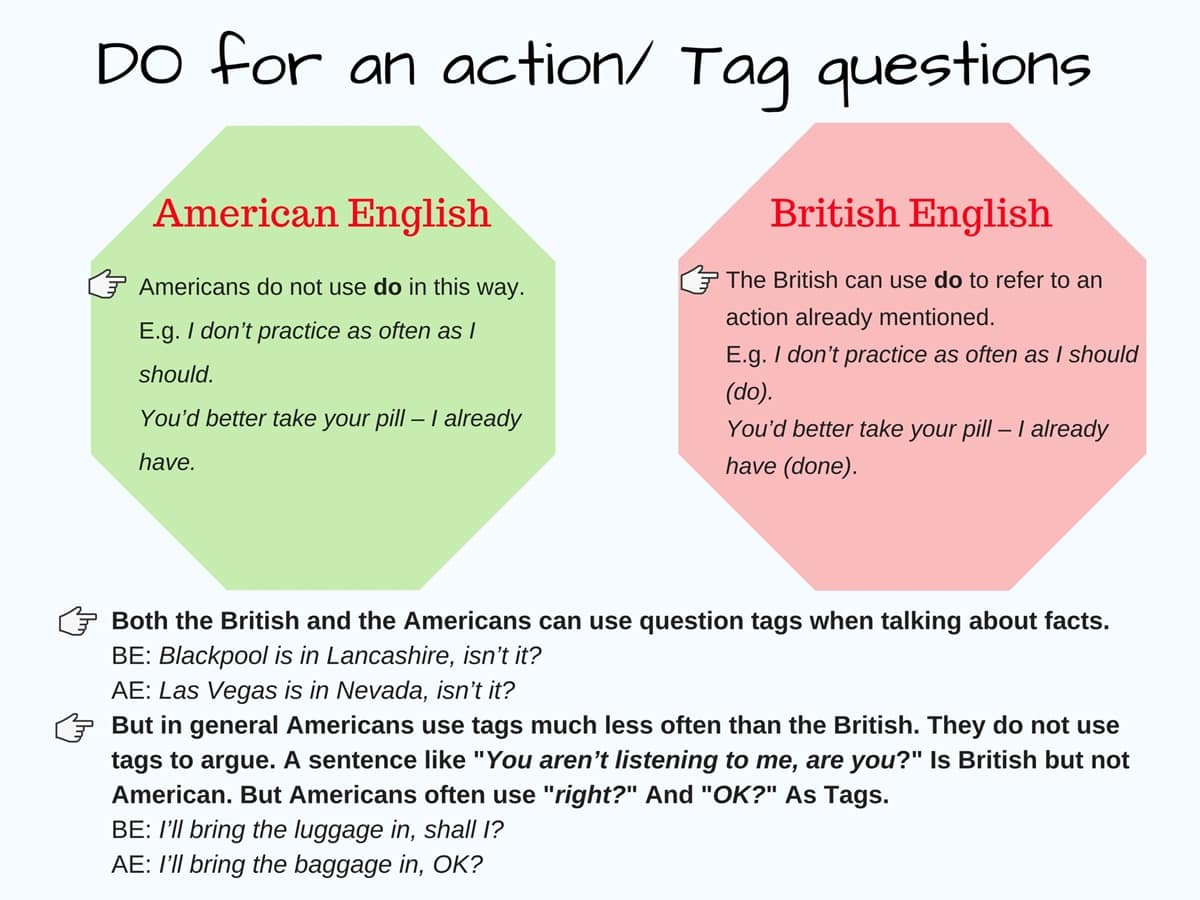 British vs. American English: What are the Differences? 6