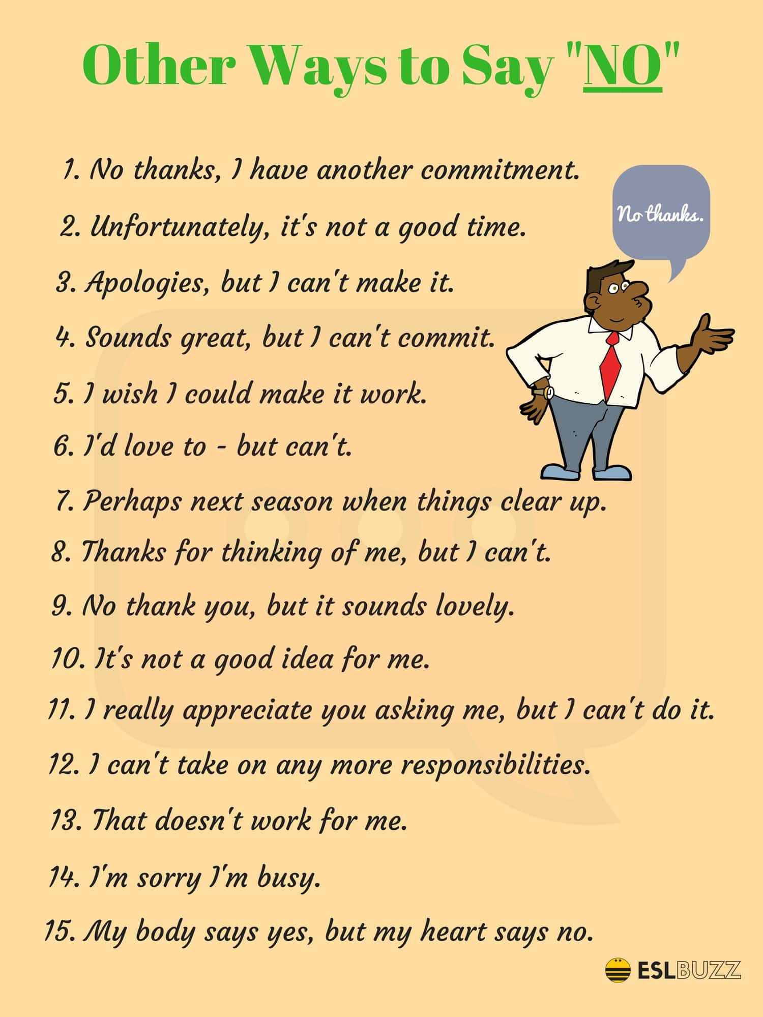 Common Phrases and What You Can Use Instead 6