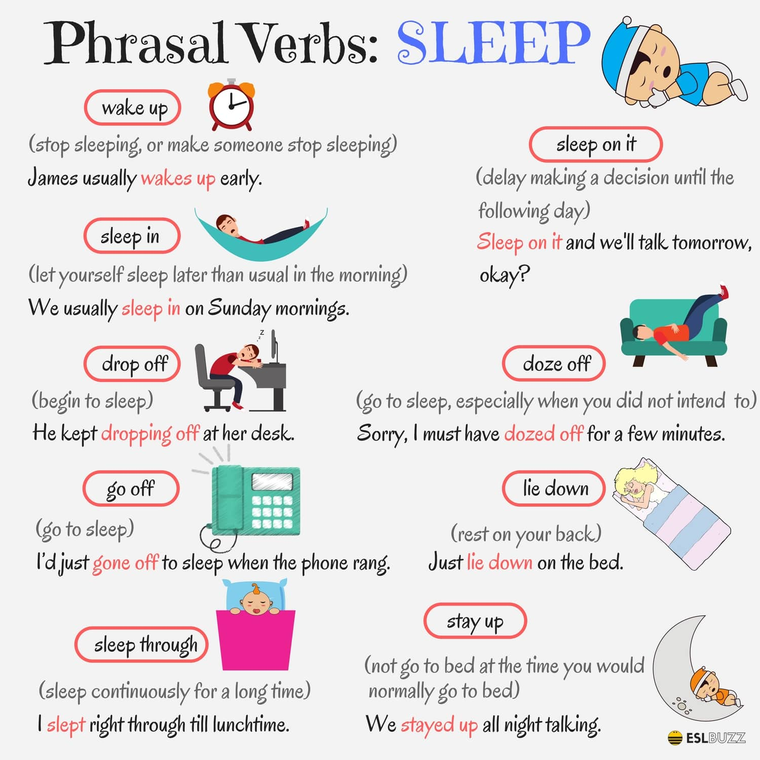 English Phrasal Verbs for Communication with Useful Examples 7