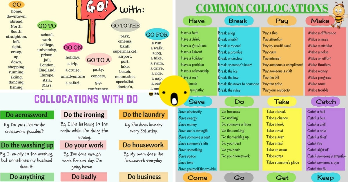 Common Verb Collocations in English 9