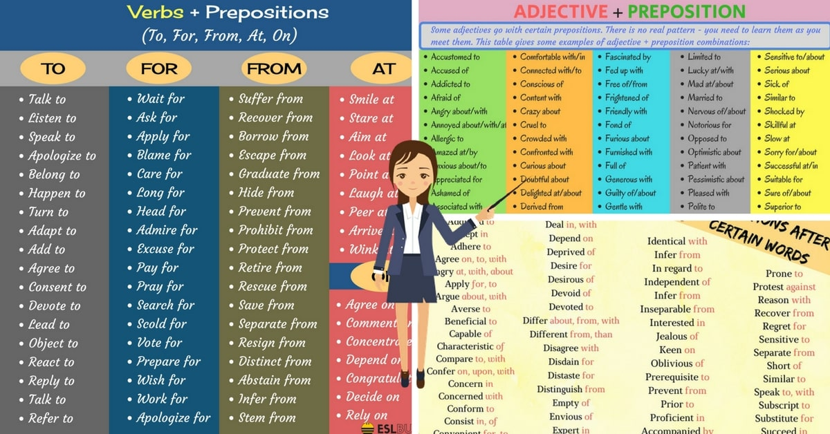 Commonly Used Preposition Collocations in English 10