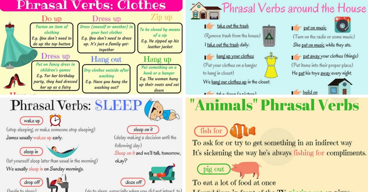 English Phrasal Verbs for Communication 8