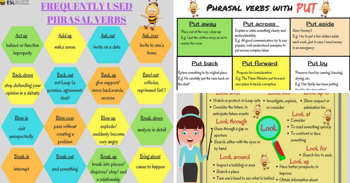 100+ of the Most Useful Phrasal Verbs in English (With Meaning & Examples) 16
