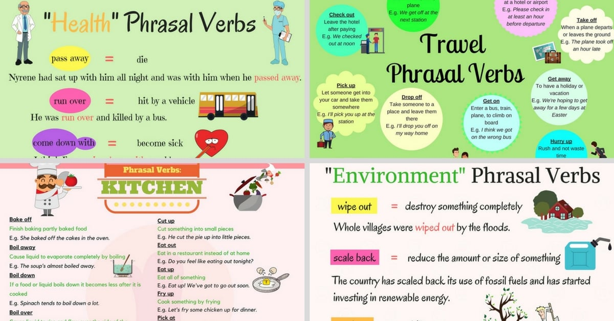 Most Useful Phrasal Verbs in English 4