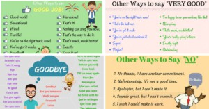 Common Phrases and What You Can Use Instead