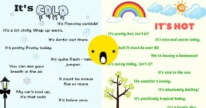 Weather Vocabulary: How to Talk About the Weather in English