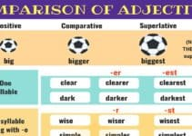 Comparison of Adjectives | Grammar Rules 5