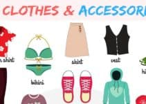 Clothes and Accessories Vocabulary in English 10
