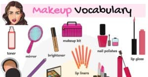 Cosmetics and Makeup Vocabulary in English