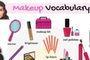 Cosmetics and Makeup Vocabulary in English 2