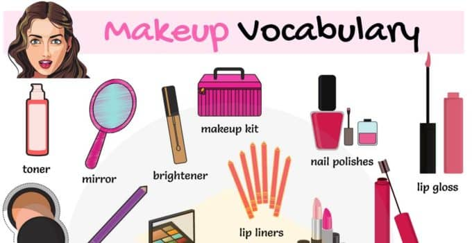 Cosmetics and Makeup Vocabulary in English 1