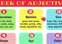 Order of Adjectives | Rules and Examples 3