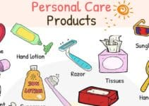 Personal Care Products Vocabulary in English 4