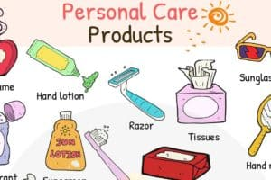 Personal Care Products Vocabulary in English 3