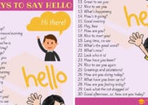 Different Ways to Say HELLO in English 8