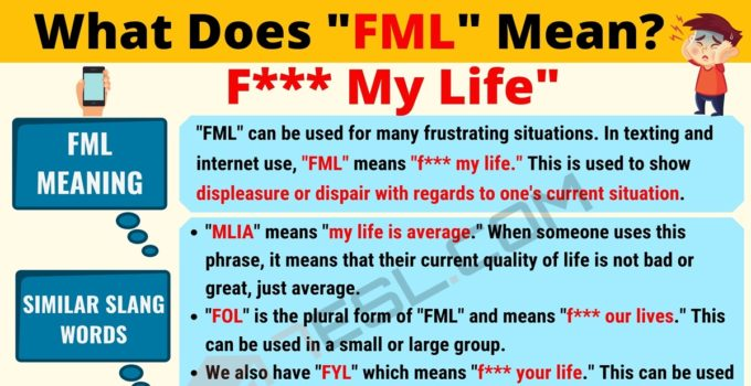 FML Meaning: What Does FML Mean? Interesting Text Conversations 1