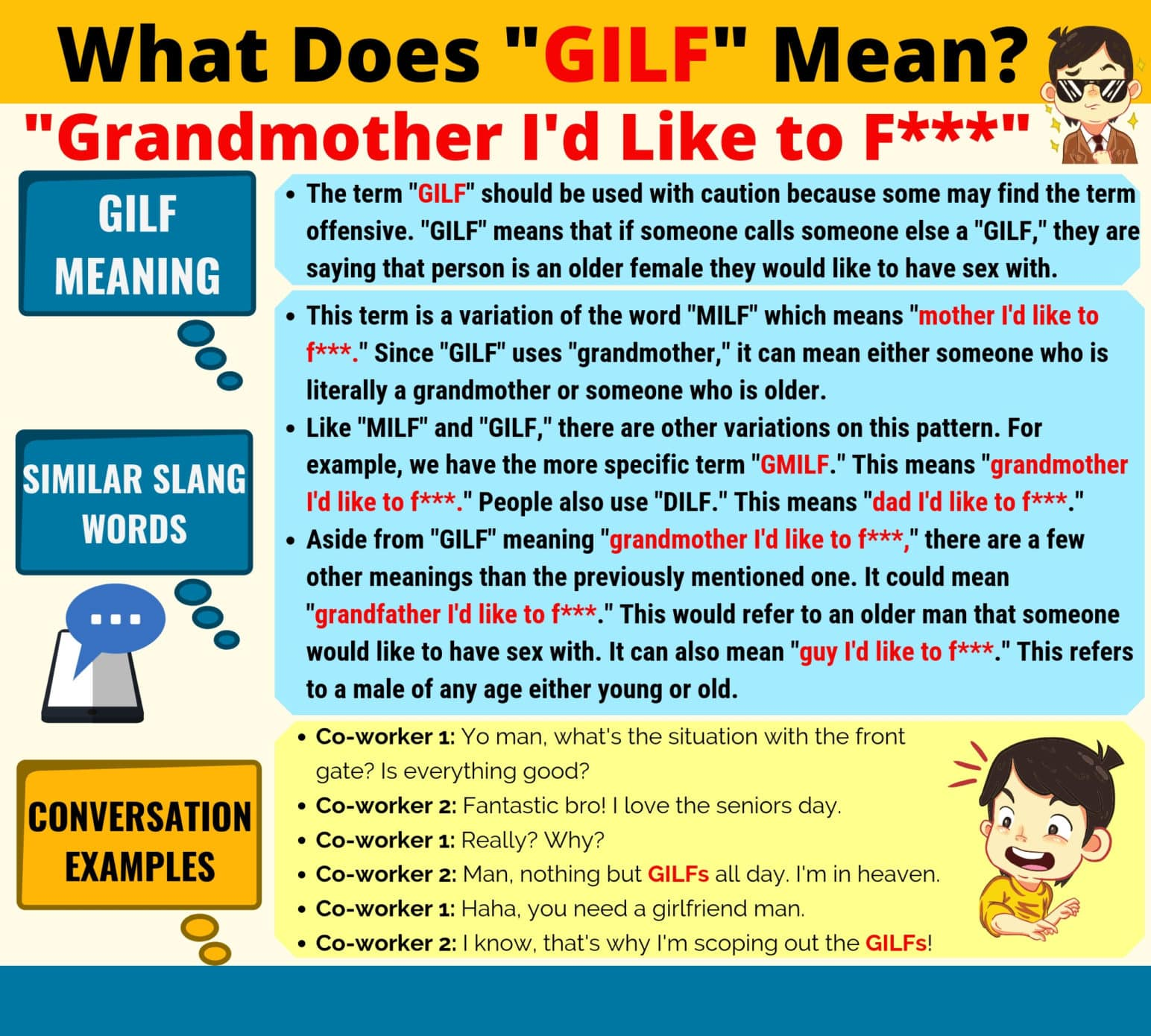 GILF Meaning: What Does GILF Mean? 2