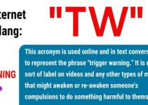 TW Meaning: What Does This Interesting Acronym Stand For? 18
