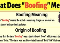"""Boofing Meaning: How to Use the Slang Term """"Boofing""""? 3"""