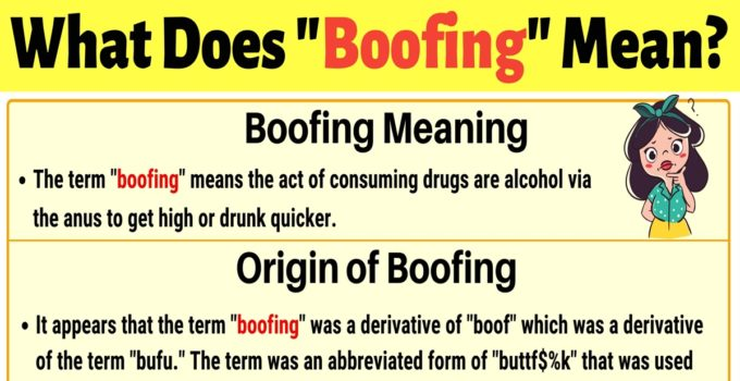 "Boofing Meaning: How to Use the Slang Term ""Boofing""? 1"