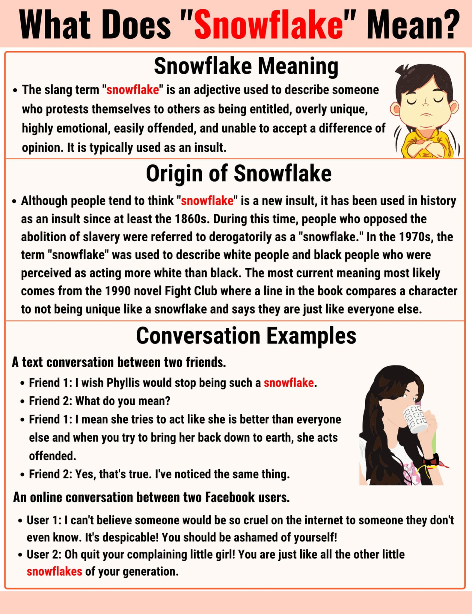 Snowflake Meaning: The Definition of the Useful Slang Term 'Snowflake'